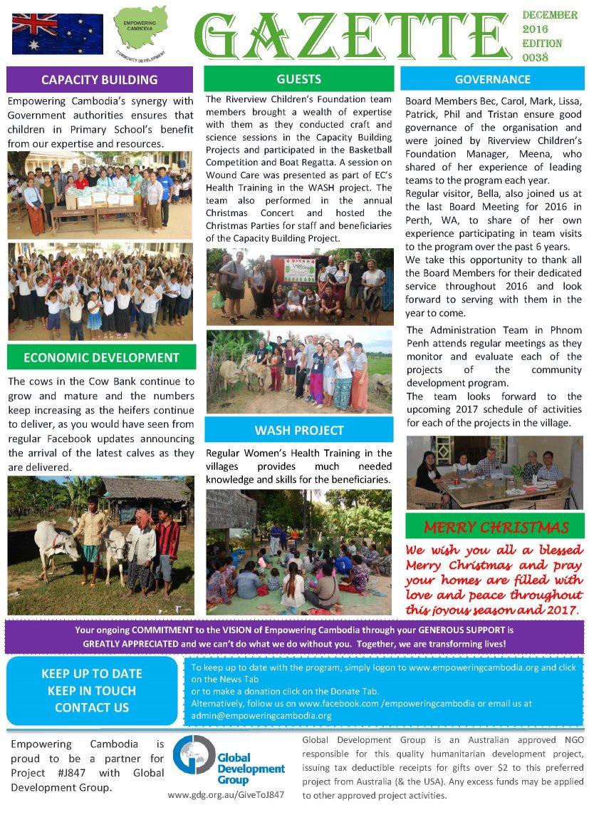 EC Gazette December 2016