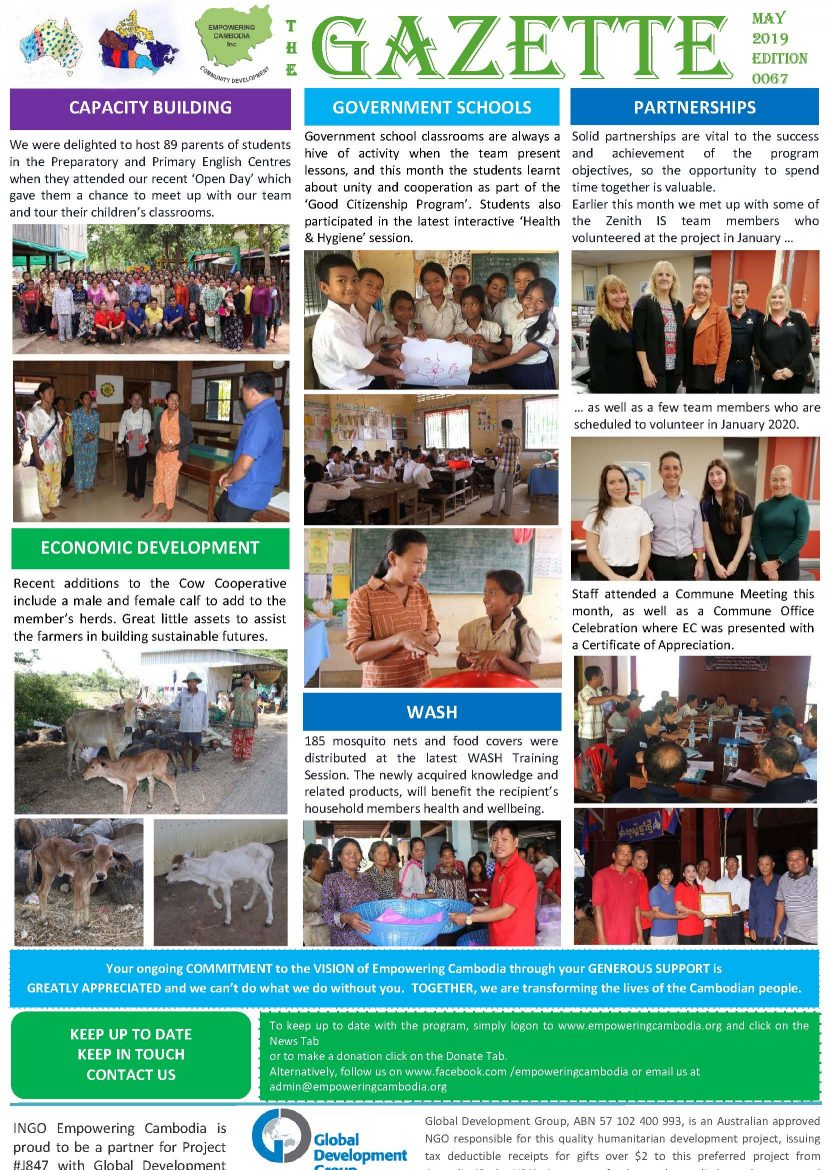 EC Gazette 0067 May 2019