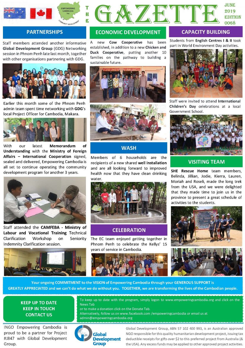 EC Gazette 0068 June 2019