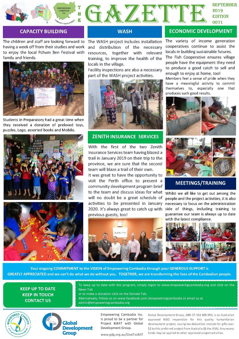 EC Gazette 0071 September 2019